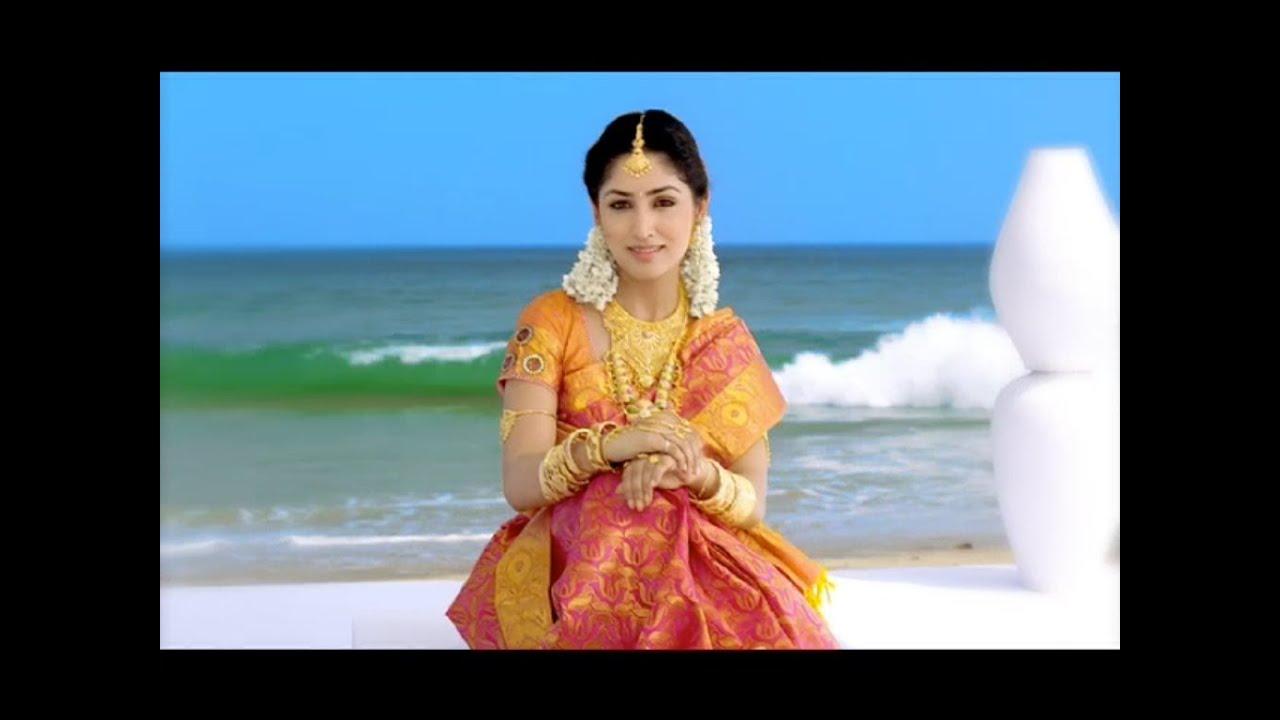 Yami Gautam In Jewellery Ad ARRS Silks Ad feat Yami Gautam