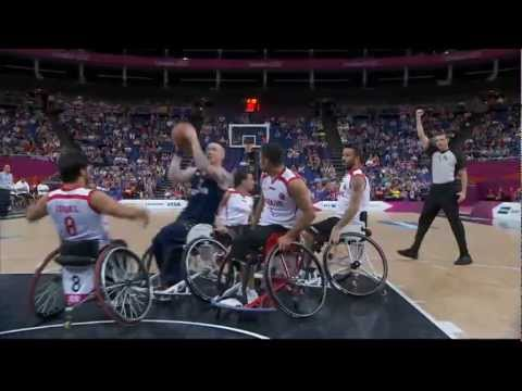 Wheelchair Basketball - Men's Quarter-Final - TUR versus GBR - London 2012 Paralympic Games