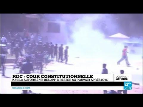 RDC : Joseph Kabila autorisé à rester au pouvoir après 2016 s'il n'y a pas d'élections