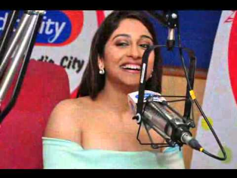 Telugu Heroine Regina Cassandra at Radio City 91 1 FM Hyderabad