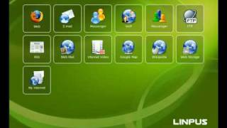 Linpus Linux Lite 9.4 Interface