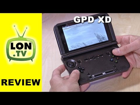 GPD XD Android Portable Game Console Review - with IPS Display - Great for Retro Emulation