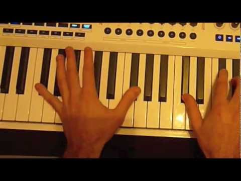 Avicii VS Nicky Romero - I Could Be The One (Tuto Piano)