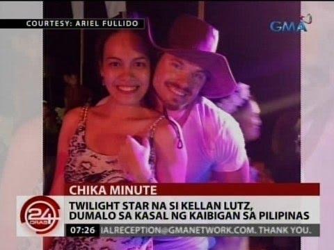 24 Oras: Twilight Star na si Kellan Lutz, dumalo sa kasal ng kaibigan sa Pilipinas