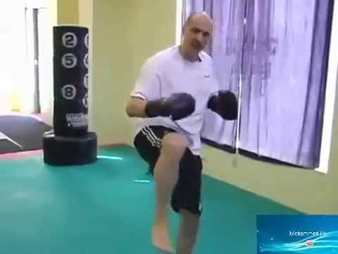 Kickboxing Training - Kickboxing Techniques - Superman Punch Image 1