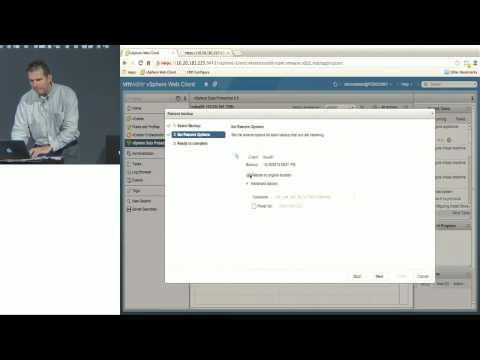 VMworld 2013: Session BCO5041 - vSphere Data Protection - What's New and Technical Walkthrough