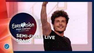 Spain - LIVE - Miki - La Venda - First Semi-Final - Eurovision 2019
