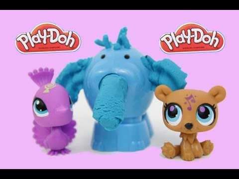 Play Doh Jungle Pets Animal Activities LPS Littlest Pet Shop Hasbro