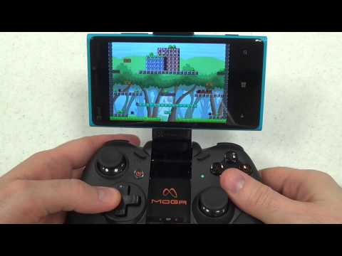 MOGA Pro Controller: Windows Phone Tutorial & Review