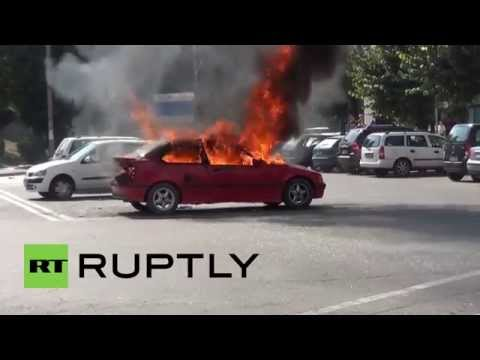 Romania: Indebted man sets himself on fire over tax dispute