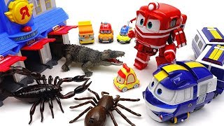 Go Go Robot Train~! Bugs in Poli Rescue Station