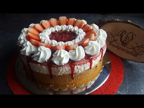 Leichte Erdbeer Torten Rezept ♥ P&S Backparadies