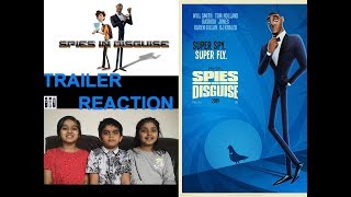Twin Sisters Reaction on SPIES IN DISGUISE TRAILER 2019