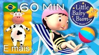 Canção Vamos Nadar  | E muitas mais Canções de Ninar | LittleBabyBum!