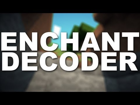 Minecraft Mods : Enchantment Decoder Mod 1.6.2 DL/ Tutorial in DESC [Enchant View Mod]