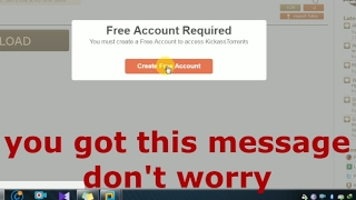 Download Kickass torrent|Movies Games Software| without Account Registration free latest 2017