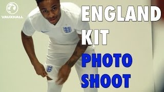 England kit World Cup 2014 Nike - Behind the scenes photoshoot