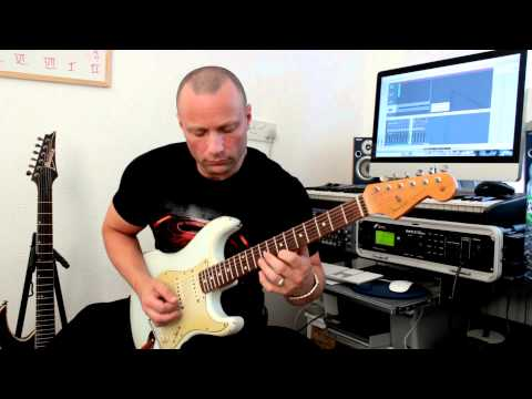New Fender Relic Strat Tone Test - Rick Graham