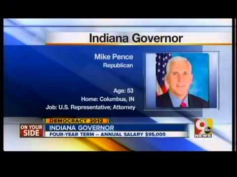 Indiana Governor: Rep. Mike Pence