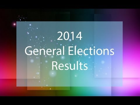 2014 General Elections Results India