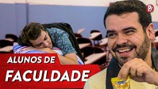 TIPOS DE ALUNOS DE FACULDADE   PARAFERNALHA