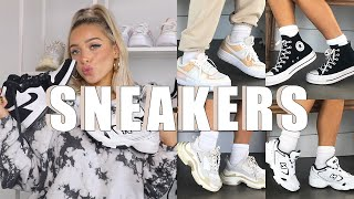 SNEAKER COLLECTION + HOW TO STYLE | NIKE, ADIDAS, NEW BALANCE, MORE