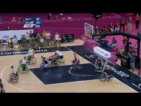 Wheelchair Basketball - Men's Semifinal - AUS versus USA - London 2012 Paralympic Games