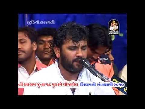 Shivji Popular Bhajan kailas Ke Nivasi Kirtidan Gadhvi Live Dayaro 2014 video