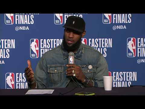 Kevin Love and LeBron James Postgame Interview | Celtics vs Cavaliers Game 3