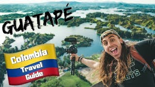 GUATAPE is MORE than just a Day Trip - Colombia Travel Vlog Ep 4