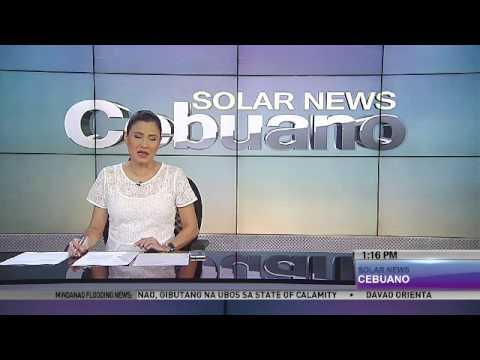 Solar News Cebuano Jan  14, 2014