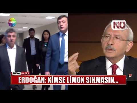 """Erdoğan: """"Kimse limon sıkmasın..."""""""