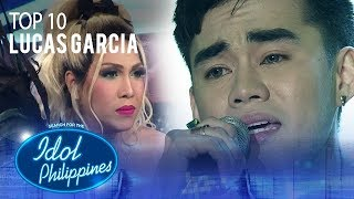"Lucas Garcia sings ""Lupa"" 
