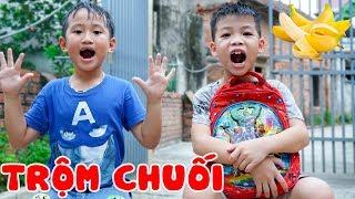 Trò Chơi Đứa Trẻ Hư Trộm Chuối Nhà Hàng Xóm Và Cái Kết - Bé Nhím TV - Đồ Chơi Trẻ Em Thiếu Nhi