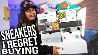 TOP 10 SNEAKERS I REGRET BUYING IN MY COLLECTION !