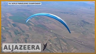 Paragliding world champs: 150 pilots compete for titles
