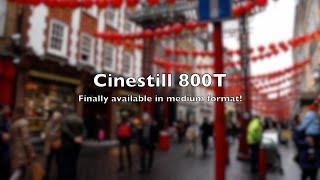 CineStill 800T in 120
