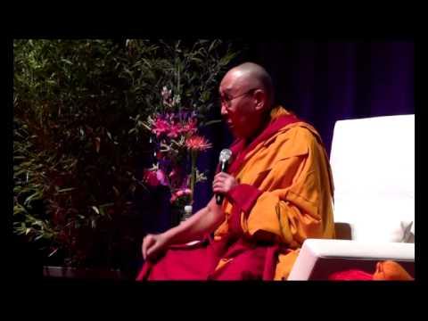 HH the Dalai Lama's talk to Tibetan community at Hamburg, Germany
