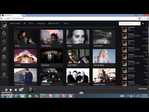 Free Online Music Interactive Radio / Media Player & MP3 Downloader