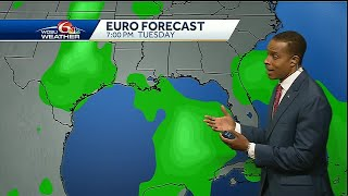 Watching the tropics: Disturbance set to move into Gulf of Mexico