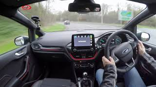 Review and Virtual Video Test Drive In A 2018 Ford  FIESTA 1 0I ST LINE X Eco BOOST 5DR 125PS 6SP AE
