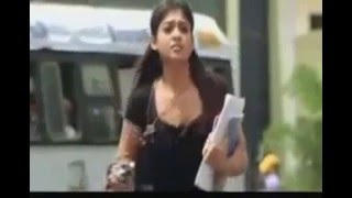 Nayantara Without Bra Hot boobs bouncing and Cleavage