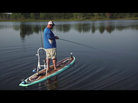 Stand Up Paddle Board Frog Fishing -Dave Mercer's Facts of Fishing 2014 Full Episode 3