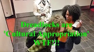 "SFSU 2016 White Dreadlock Student Assaulted By Black Student ""cultural appropriation"" response"