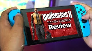 Wolfenstein II: The New Colossus REVIEW | Nintendo Switch
