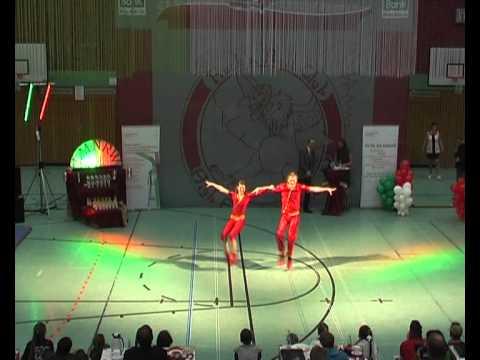 Jana Jones & Michael Wiedemann - Landesmeisterschaft NRW 2013