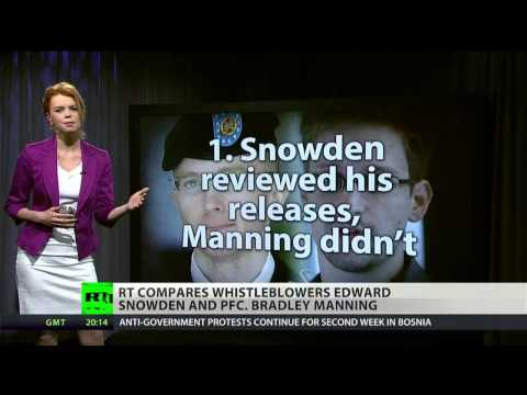 Snowden vs Manning: tale of two whistleblowers
