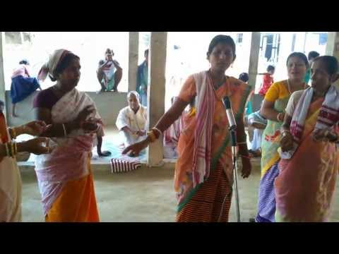 Bishnupriya Manipuri Celebrating Devi Durga Puja Patharkandi, Kantabari, Assam video