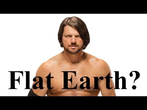 AJ Styles & Daniel Bryan discuss Flat Earth - WWE - Mark Sargent ✅