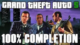GTA V 100% Completion - Full Game Walkthrough (HD)